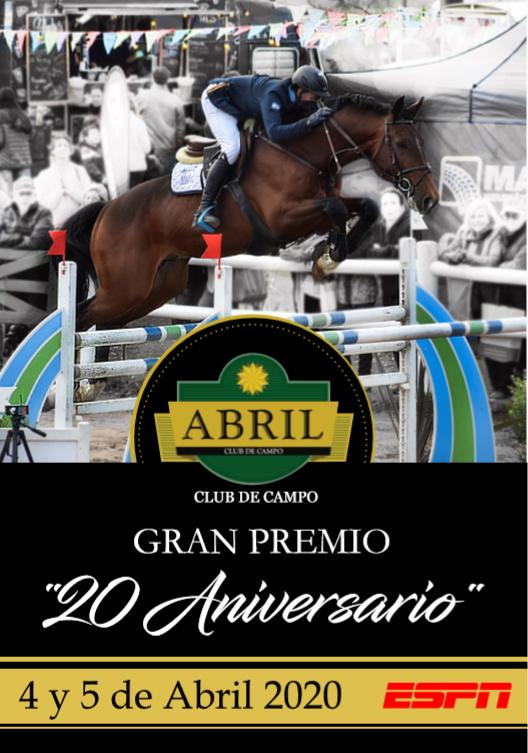 "GRAN PREMIO ""20 ANIVERSARIO"""